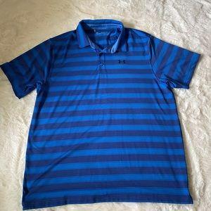 Mens Under Armour Heath Gear Golf Shirt